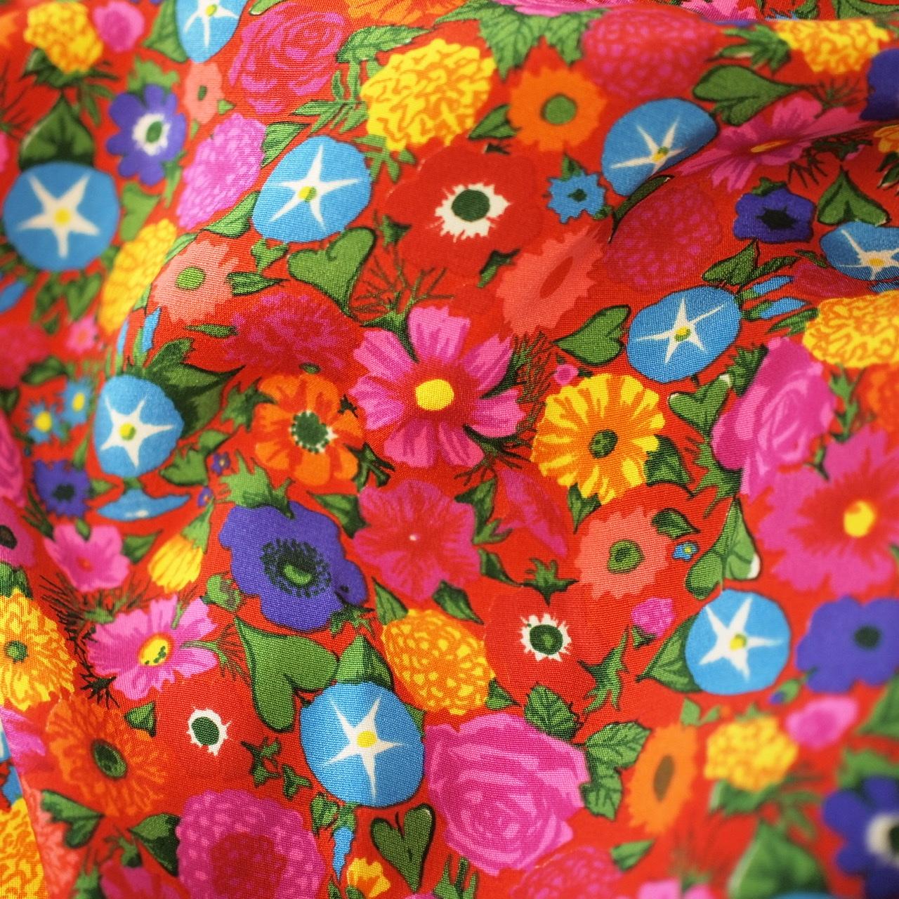 ケンスコット 花柄